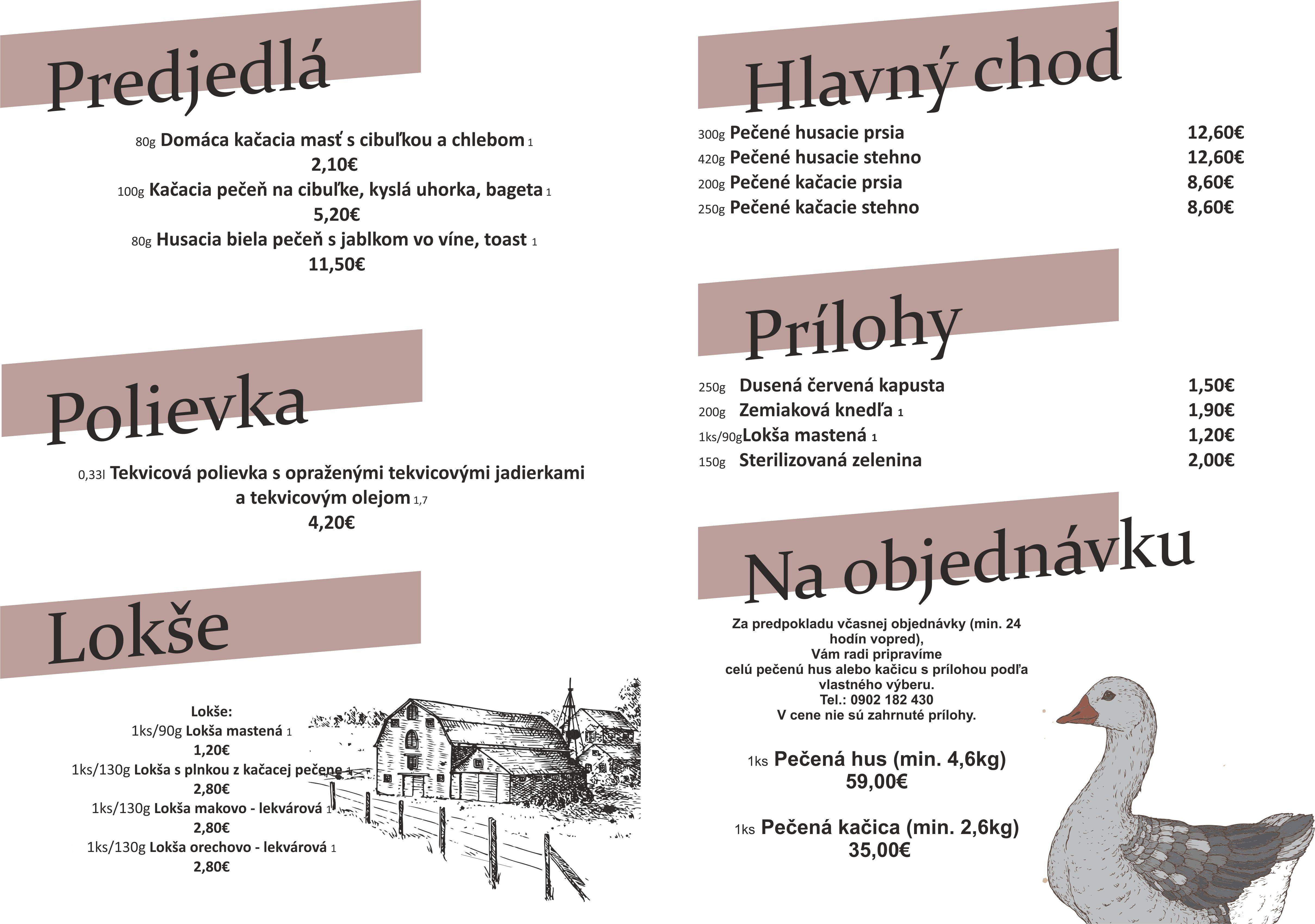 menu A3 FB